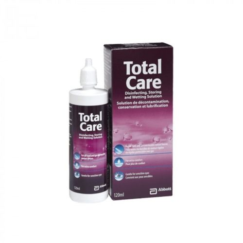 TOTAL CARE SOLUTION ΥΓΡΟ ΦΑΚΩΝ ΕΠΑΦΗΣ 120ML