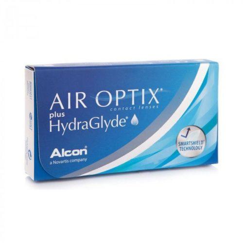 AIR OPTIX PLUS HYDRAGLYDE ΜΗΝΙΑΙΟΙ ΦΑΚΟΙ ΕΠΑΦΗΣ ΣΙΛΙΚΟΝΗΣ ΥΔΡΟΓΕΛΗΣ (3 ΦΑΚΟΙ)